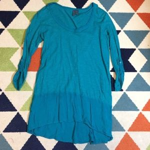 Left of Center Tunic Top